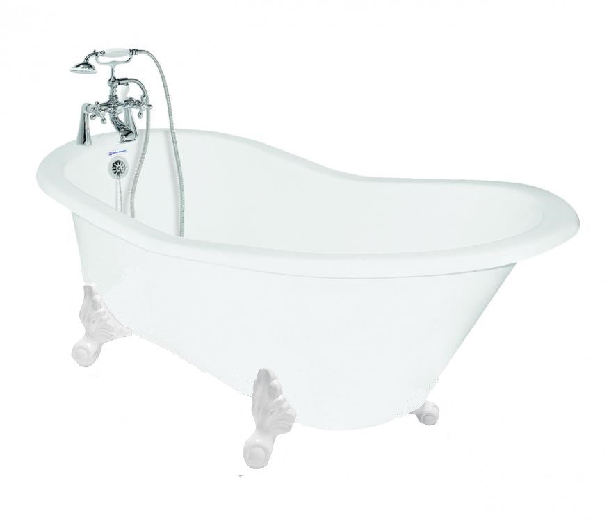 ... Wintess Slipper Cast Iron Clawfoot Bathtub