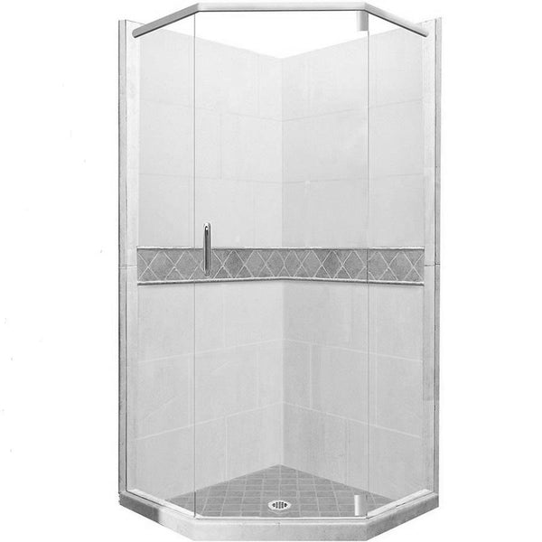 Diamond Neo-Angle Shower Kit Style & Color Options - American Bath Factory