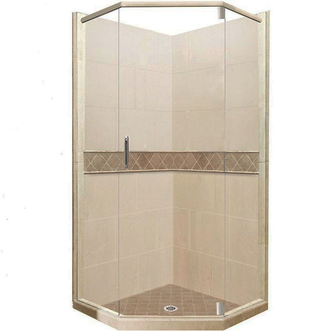 American Bath Factory Sistine Stone Shower Kits and Freedom Packages