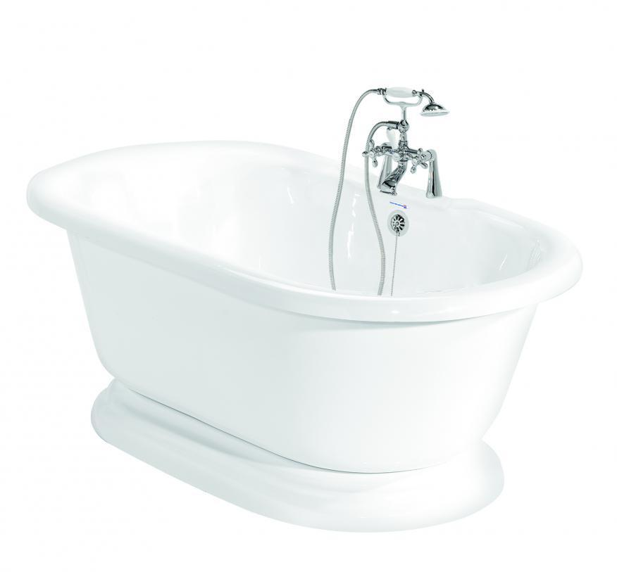 Earl Double Pedestal Bathtub; Earl Double Pedestal Bathtub ...