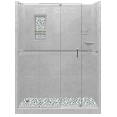 Portland Cement Alcove Grand Shower Kit  Shower Kit - American Bath Factory