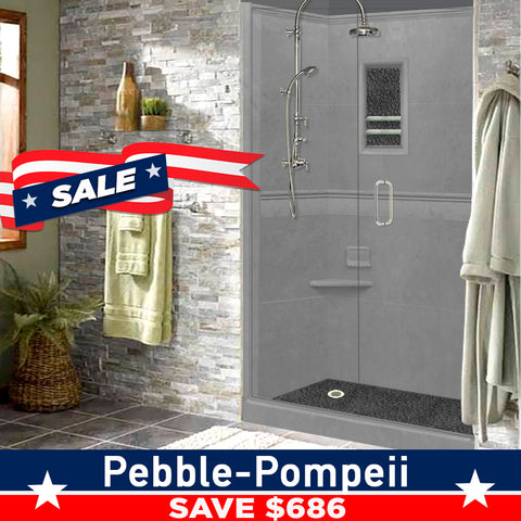 Wet Cement Alcove Grand Shower Kit