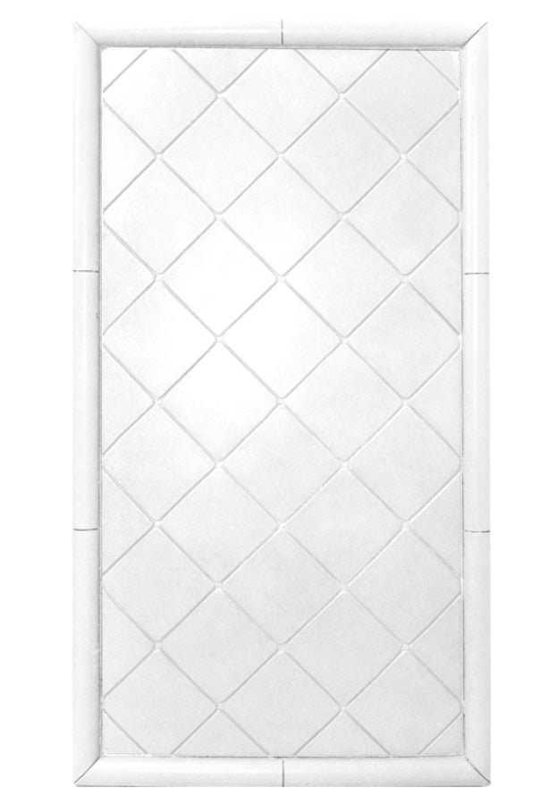 Tiled Diamond Shower Panel  Shower Detail - American Bath Factory