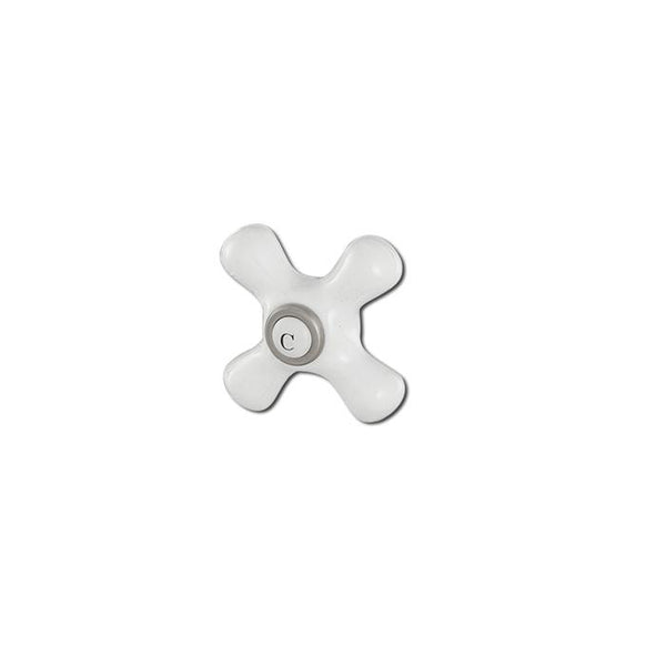 Cold Porcelain Cross Handle - American Bath Factory