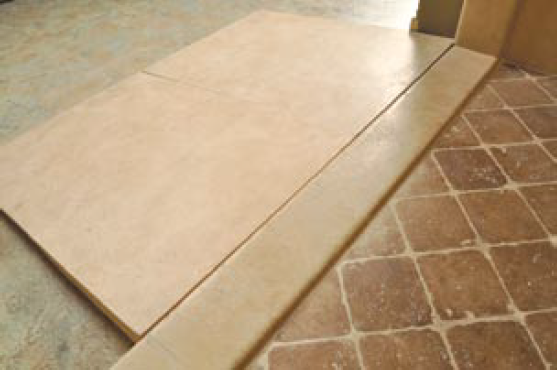 Sistine Stone Shower Ramp