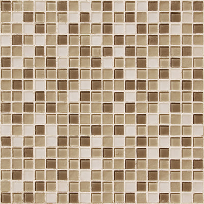 "12"" X 12"" Mosaic Glass Tiles  Shower Detail - American Bath Factory"