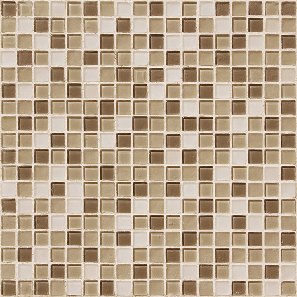 "12"" X 12"" Mosaic Glass Tiles - American Bath Factory"