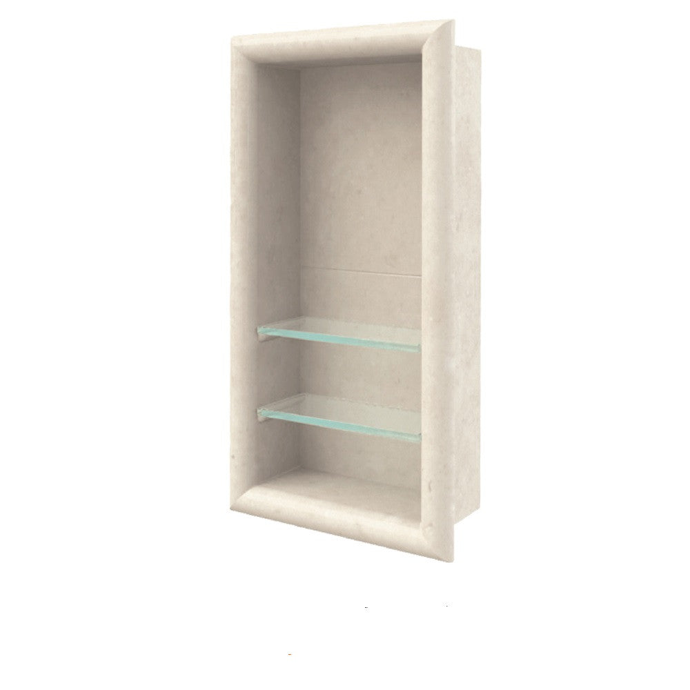 Designer Collection Vertical Shampoo Shelf  Shower Detail - American Bath Factory