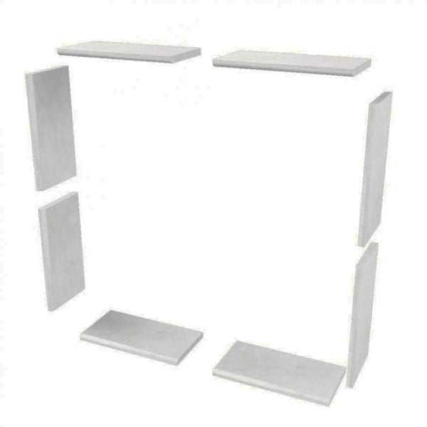 Add On Sistine Stone Window Tile Kits  Add On - American Bath Factory