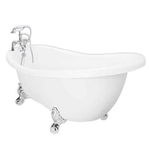 Clawfoot Slipper Bathtub  Bathtub - American Bath Factory