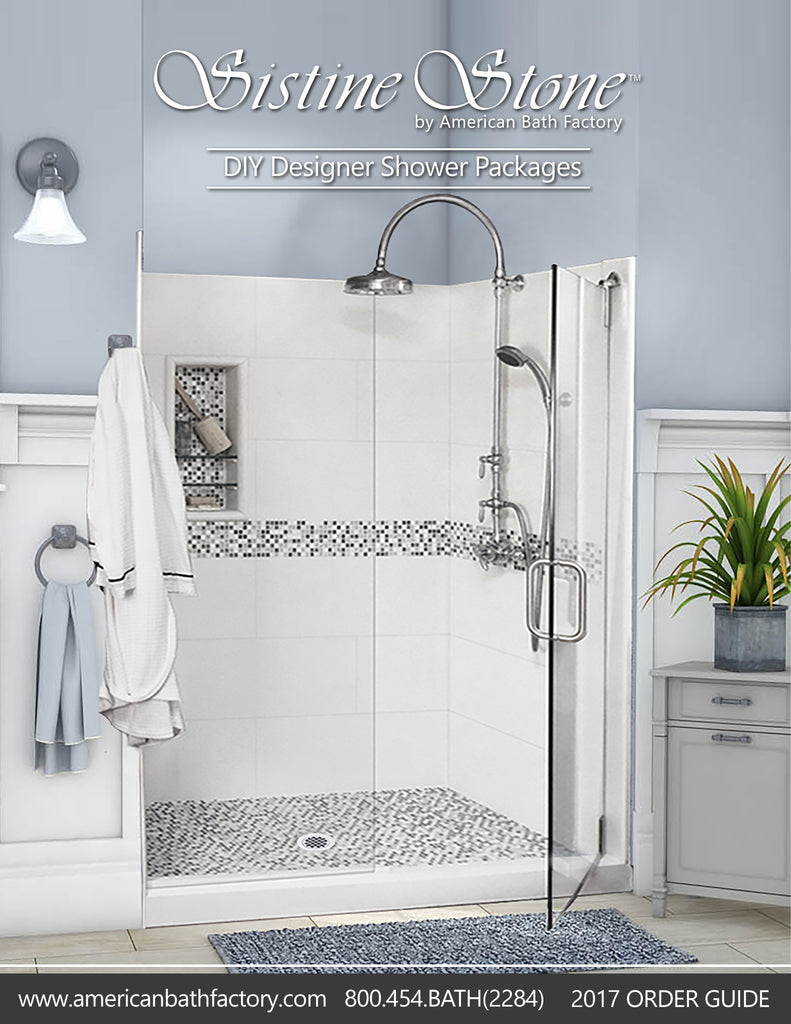 Shower Order Guide  Brochure - American Bath Factory