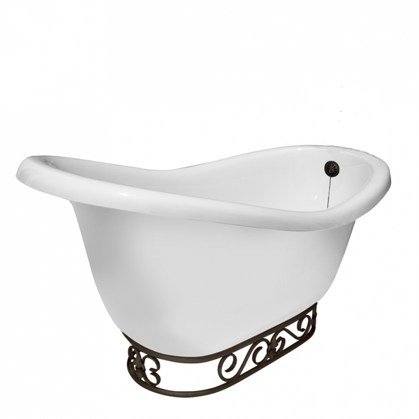 Rosa Slipper Fierro Bathtub - American Bath Factory