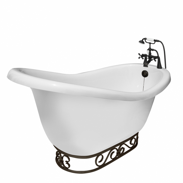 Rosa Slipper Fierro Bathtub  Bathtub - American Bath Factory