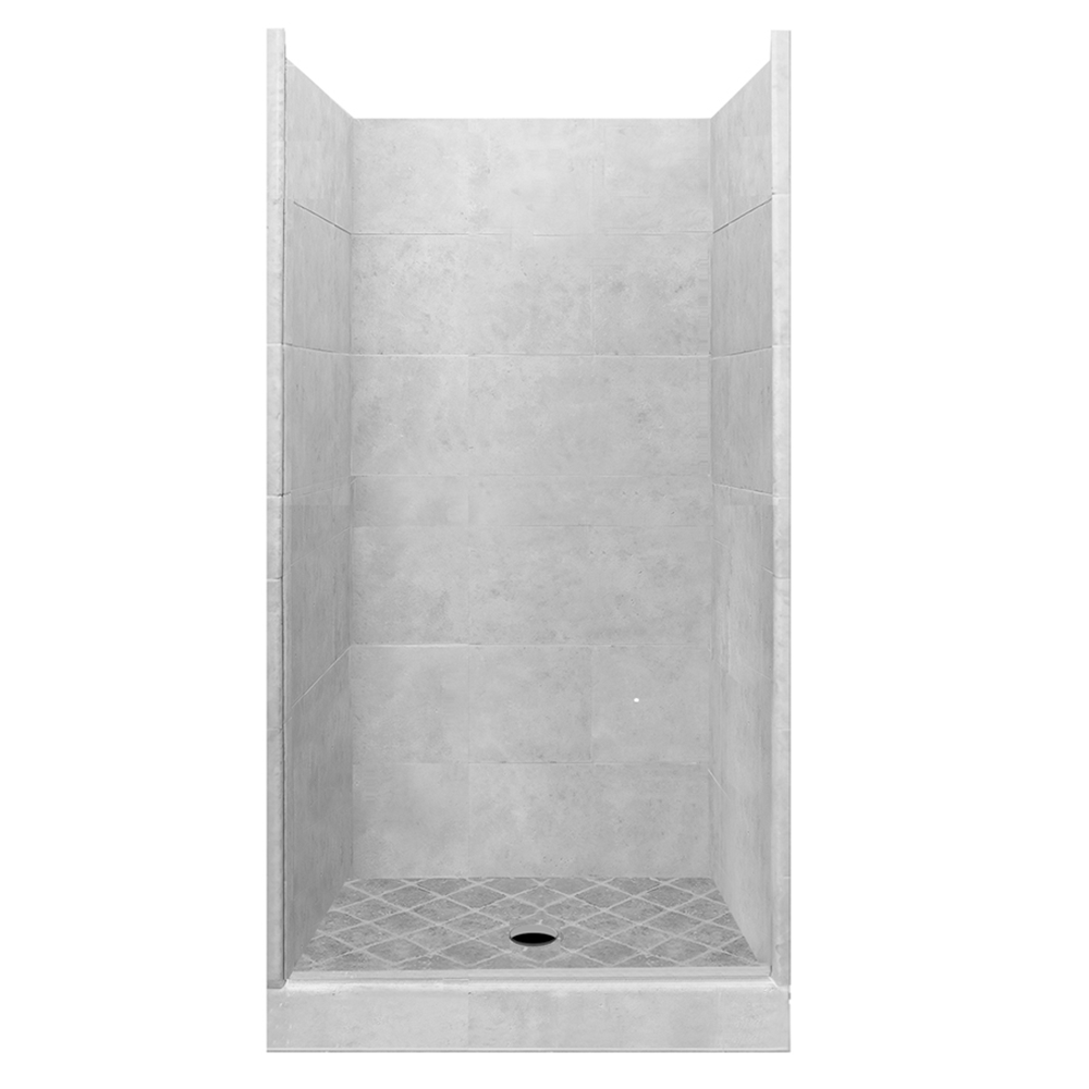 4x4 Alcove Shower Kit Style Amp Color Options American