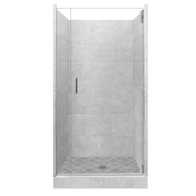 4x4 Alcove Shower Kit Style & Color Options  Shower - American Bath Factory