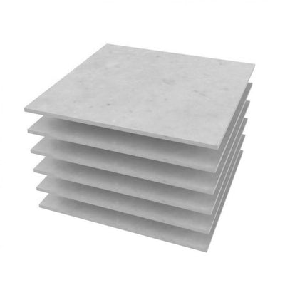 "Add On 12"" X 12"" Sistine Stone Tile Kits  Add On - American Bath Factory"