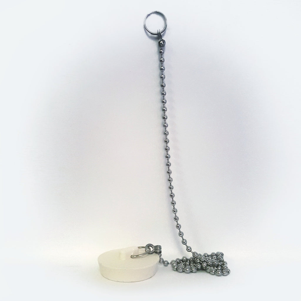 Rubber Stopper and Chain