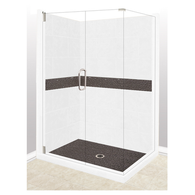 Corner Zen Shower Kit  Shower - American Bath Factory