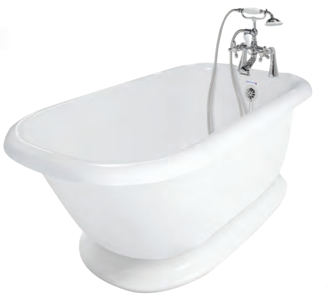Pedestal Classic Bathtub  Bathtub - American Bath Factory