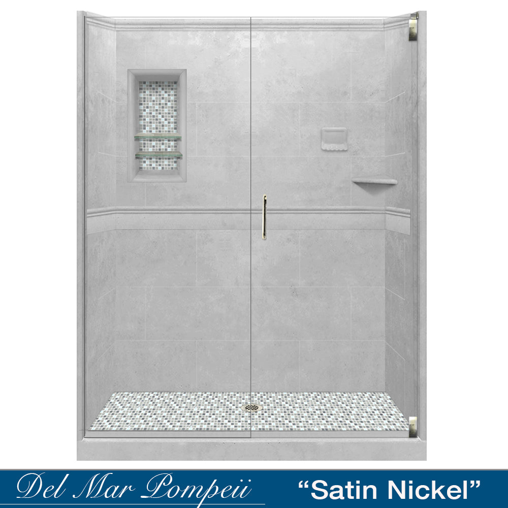 Portland Cement Alcove Grand Shower Kit
