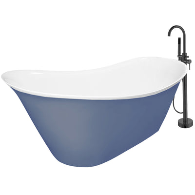 "Integrated Promo 2 Slipper 56""  Bathtub"