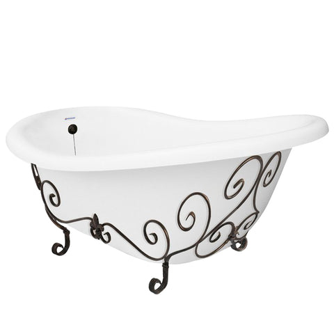 Nuevo Slipper Bathtub  Bathtub - American Bath Factory
