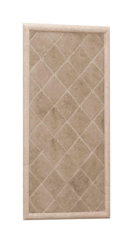 Tiled Diamond Shower Panel - American Bath Factory