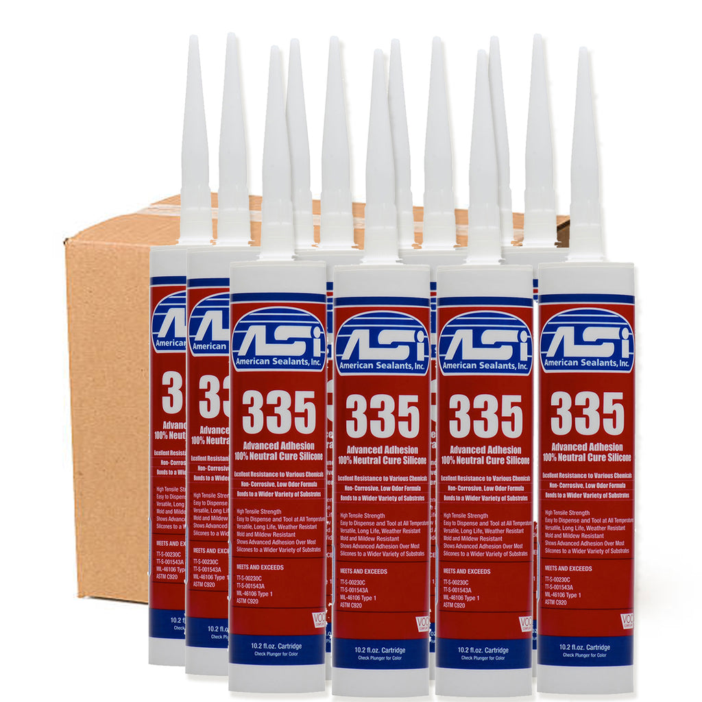 American 335 100% RTV Silicone  Shower Detail - American Bath Factory