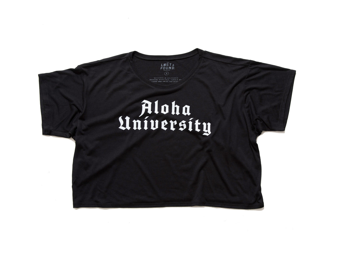 Aloha University Crop-Top