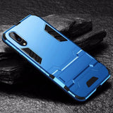 Luxury Invisible Kickstand Rugged Case For Huawei P20/P20 Lite/P20 Pro