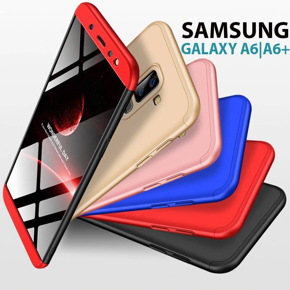 quality design d0c04 2ac44 Discount Hybrid 360 Degree Protection Case For Samsung Galaxy A6 (2018)