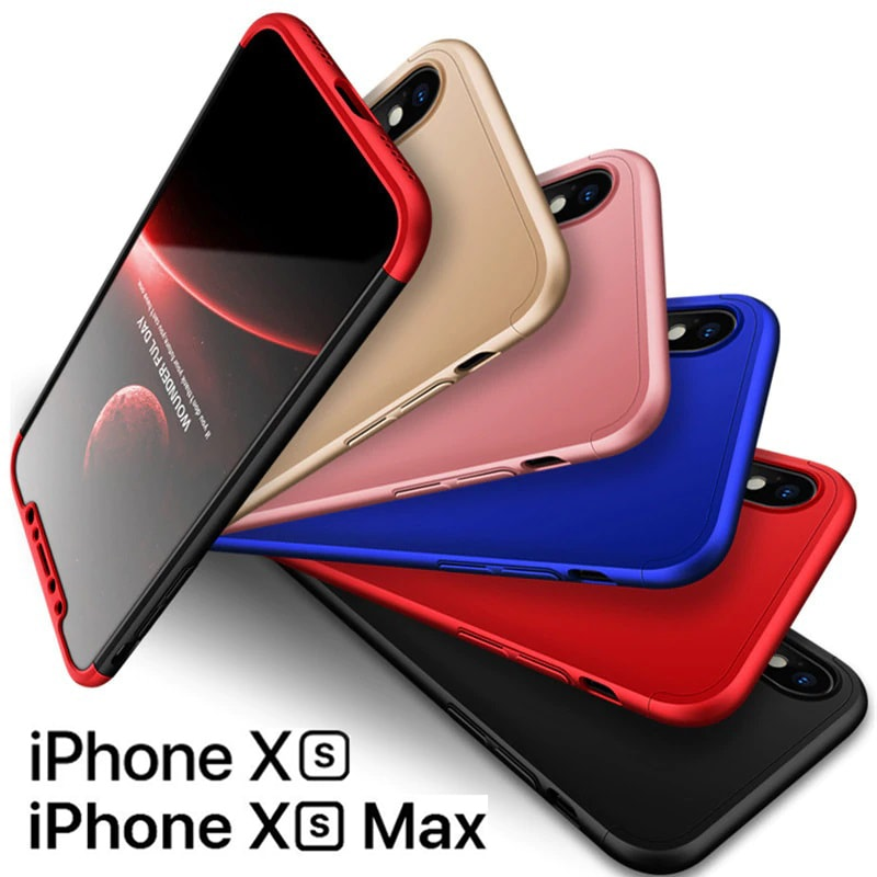 san francisco 84efb 7b5f8 Hybrid 360 Degree Protection Case For iPhone XR/XS/XS Max