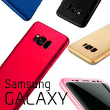 Discount Luxury 360 Full Cover TPU Case For Samsung