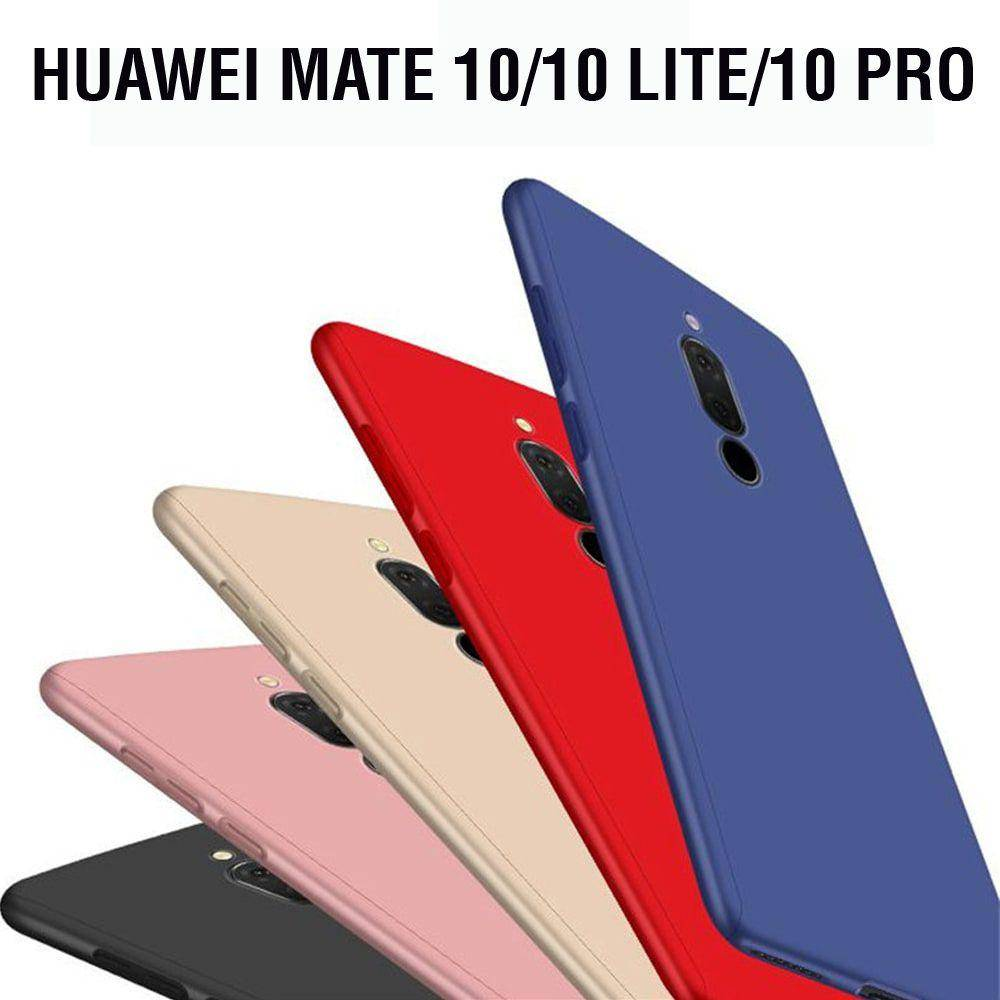 promo code 420b7 6b6ce 360 Degree Full Protection Cover Case For Huawei Mate 10/10 Lite/10 Pro