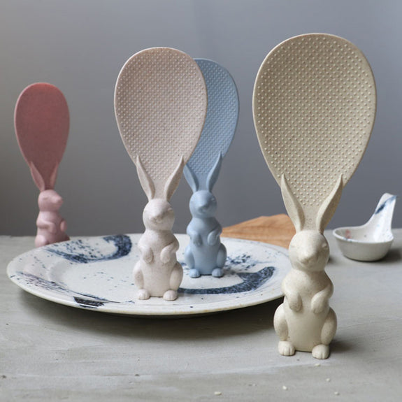 Rabbit Shaped Non Stick Rice Spoon