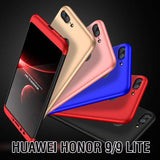 360 Degree Full Protection Rugged Case For Huawei Honor 9/Honor 9 Lite