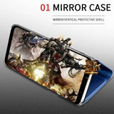 Mirror Clear View Case For Samsung S10 / S10 Plus /s10e