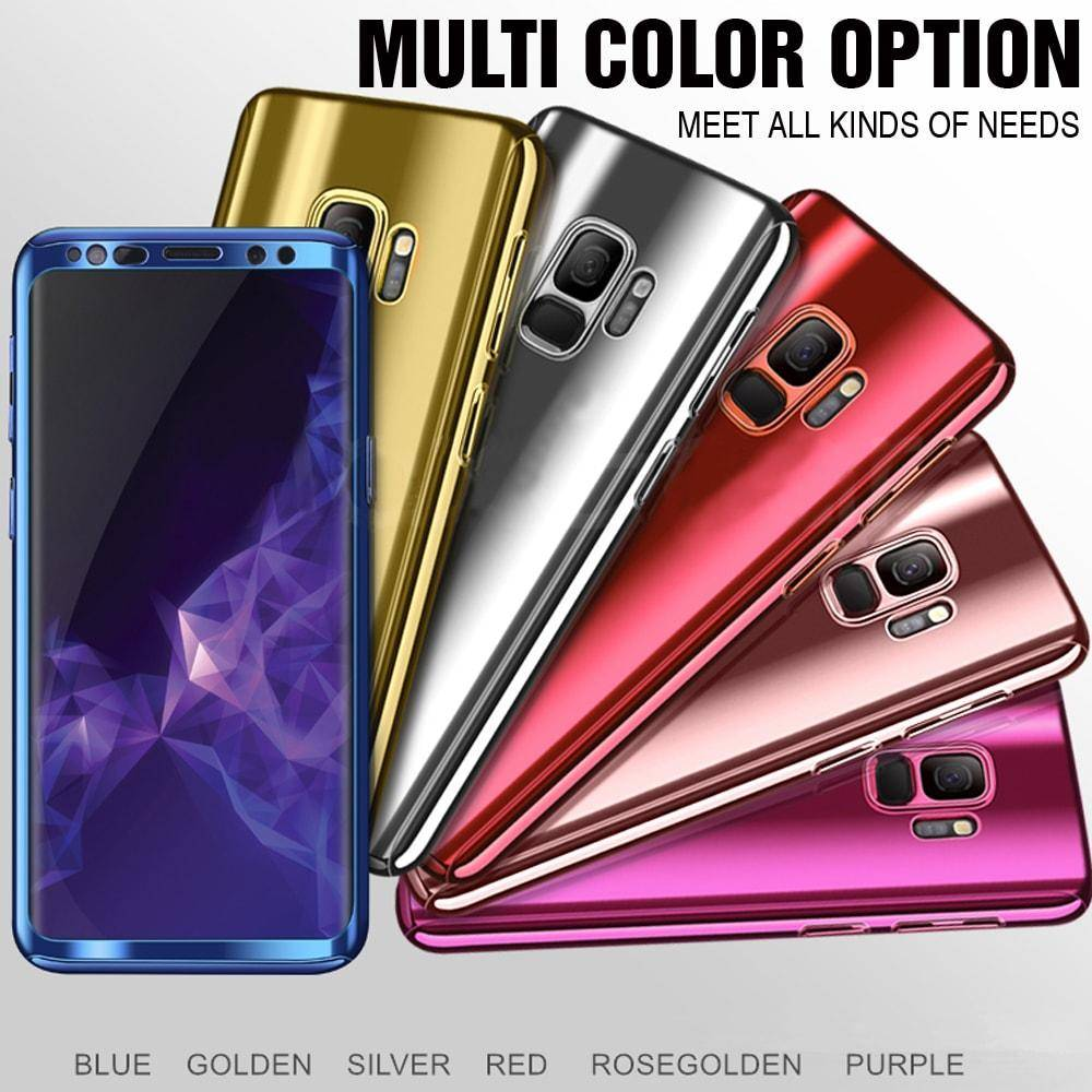 eb76d5b97 Glossy 360 Degree Luxury Phone Case For Samsung Galaxy S8 S8+ S9 S9+ –  Bright   Sparkly