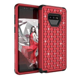 Discount Luxury Hybrid Armor Bling Case For Samsung Note 9