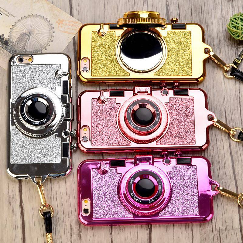 new arrival 36e52 1a2f3 Luxury 3D Retro Glitter Phone Case for Iphone 6, 6Plus, 7, 7plus - Free  Shipping!