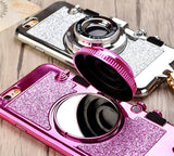 Luxury 3D Retro Glitter Phone Case for Iphone 6, 6Plus, 7, 7plus - Free Shipping!