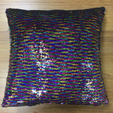Rainbow Design Magic Reveal Pillow Cover