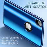 Luxury 360 Full Protection Plating Mirror Case For iPhone 8/8+ & X