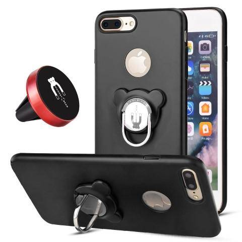 huge discount f9ecd 96919 3-in-1 Magnetic Holder Case for iPhone 8 / 8 Plus