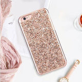 Luxury Diamond Glitter Shockproof  Case for iPhone 8 / 8 Plus / X