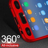 Sleek 360 Full Protection Shockproof Case For Samsung Galaxy A5 (2017)