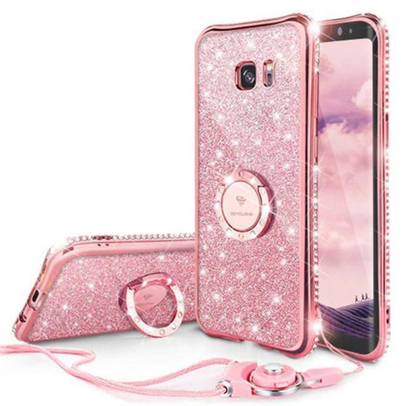 save off c9128 6c6cd Discount HOT Bling Glitter Case For Samsung Galaxy S7 / S7 Edge ...