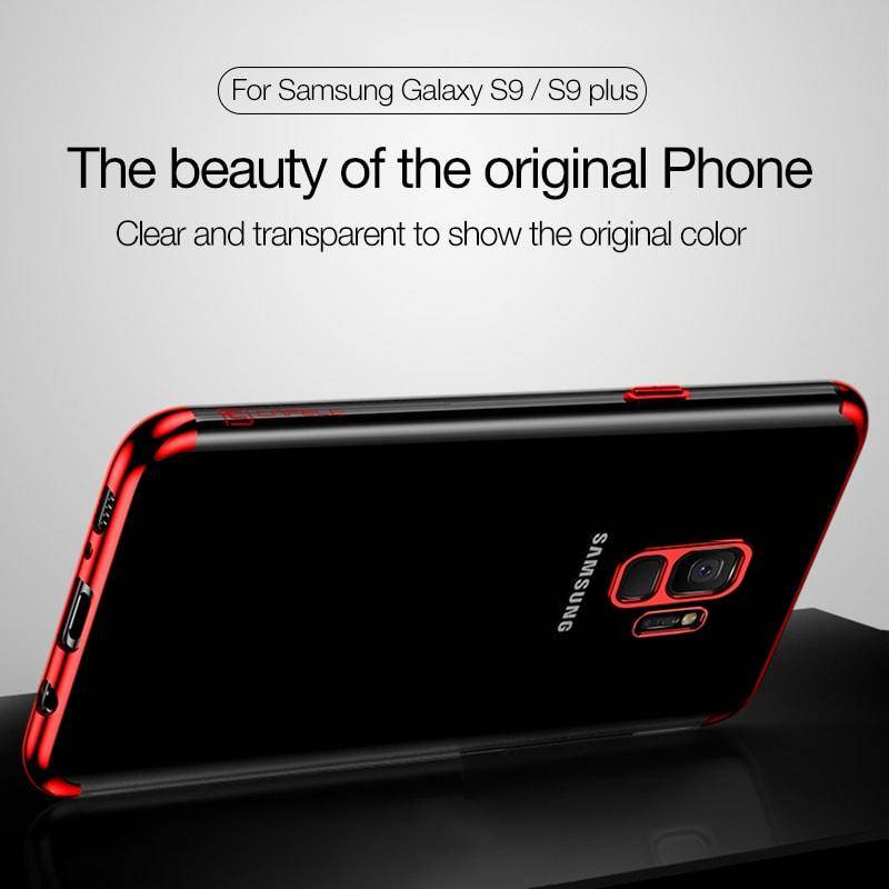 High-Quality Plating Phone Case For Samsung Galaxy S9/S9+