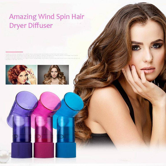 Amazing Wind Spin Hair Dryer Diffuser