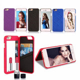 Flip Mirror Wallet Case for iPhone 8 / 8 Plus